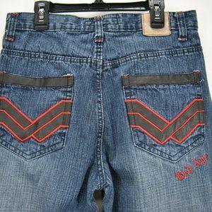 💥Red Ape Boys 18 Blue Denim Jeans Straight Cotton